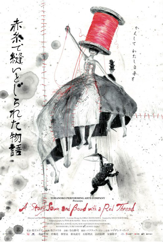 A Story Sewn and Bound with a Red Thread film poster