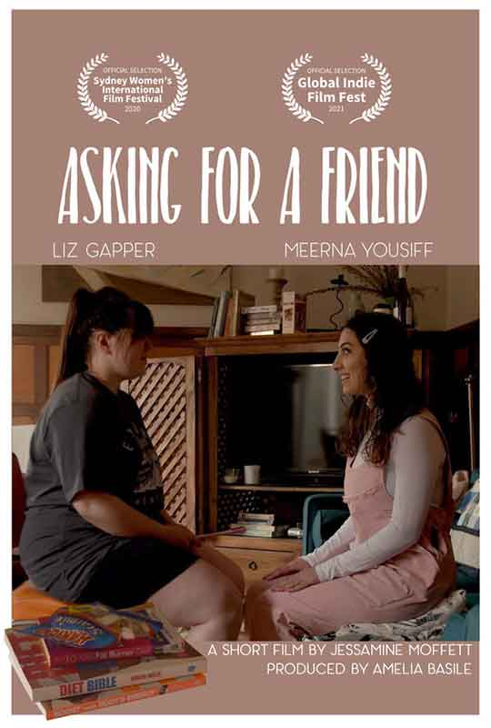 Asking For A Friend film poster