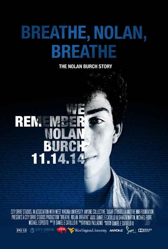 Breathe, Nolan, Breathe film poster
