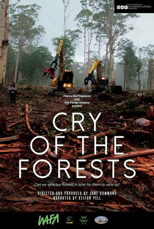 Cry of the Forests - A Western Australian Story film poster