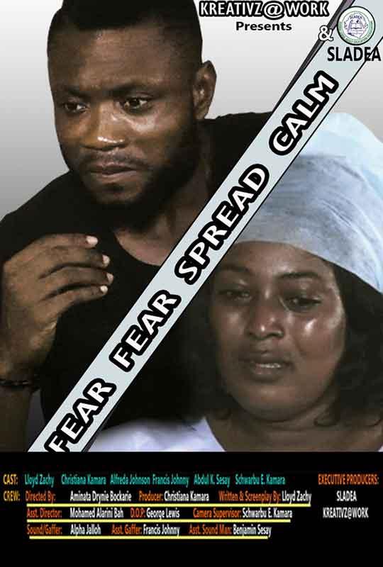 Fear Fear Spread Calm film poster