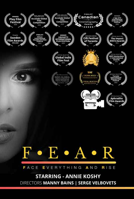 F.E.A.R: Face Everything And Rise film poster