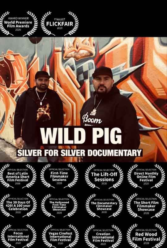 Wild Pig Silver For Silver film poster