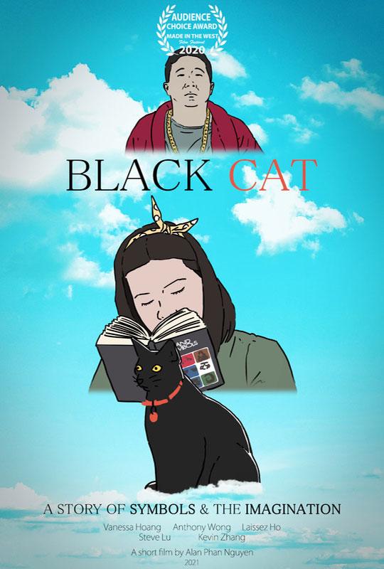 Black Cat film poster