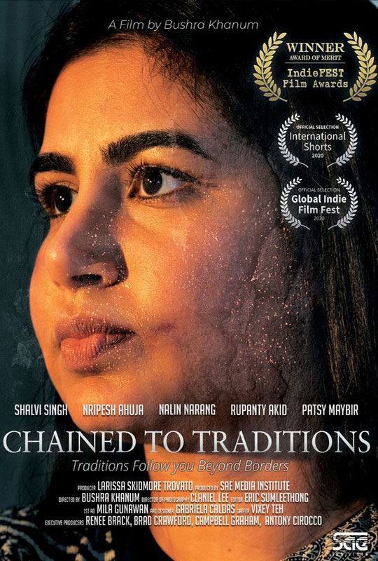 Chained to Traditions film poster