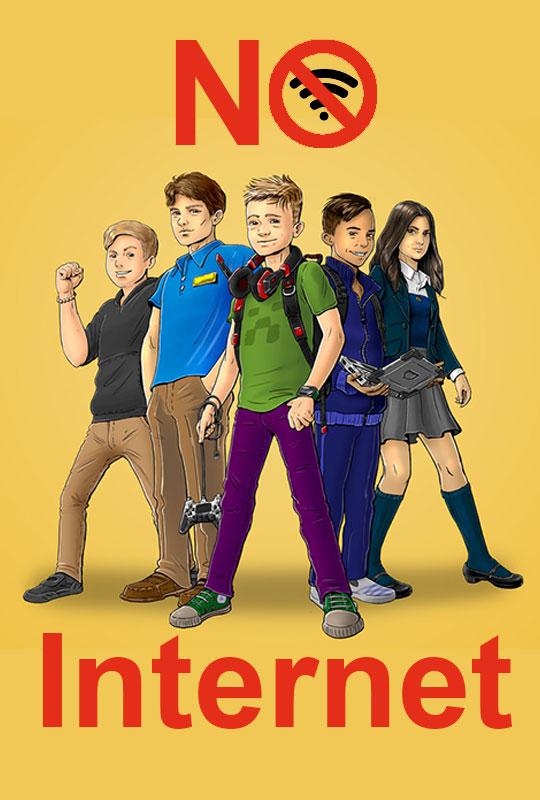 No Internet film poster