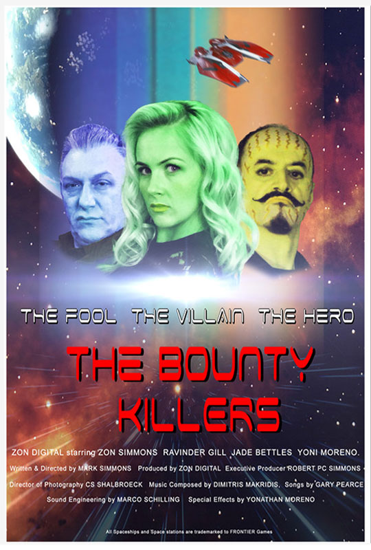 The Bounty Killers film poster