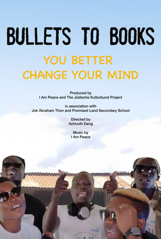 Bullets to Books film poster