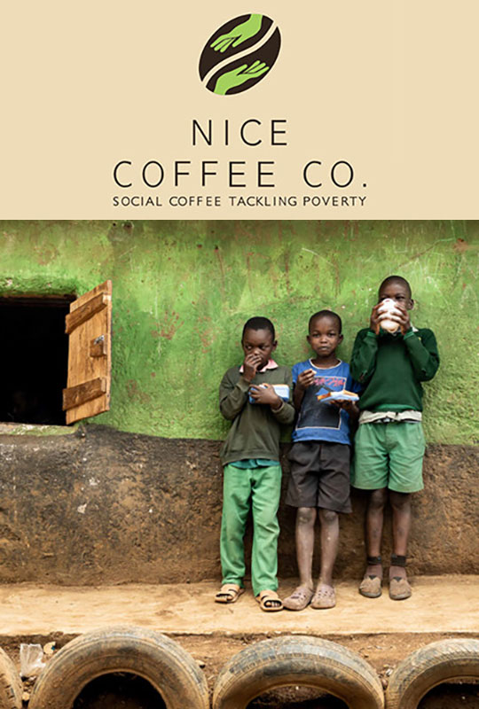"""Nice Coffee Co. """"Our Story"""" film poster"""