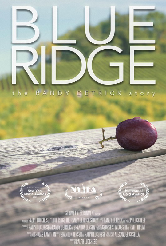 Blue Ridge: The Randy Detrick Story film poster